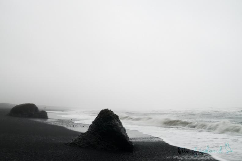 Vik Black Beach