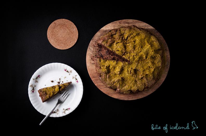Lava field cake