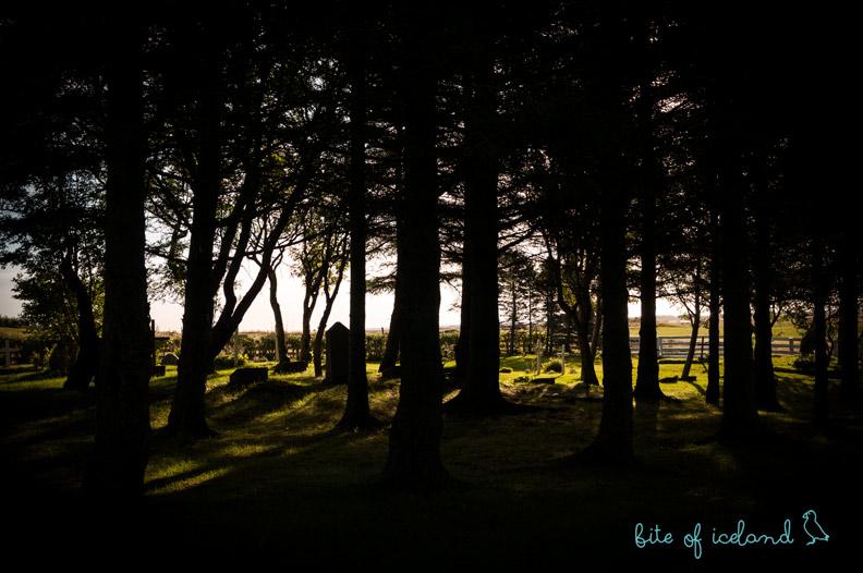 Stafafell graveyard