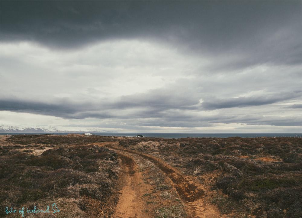 Iceland hitch-hiking