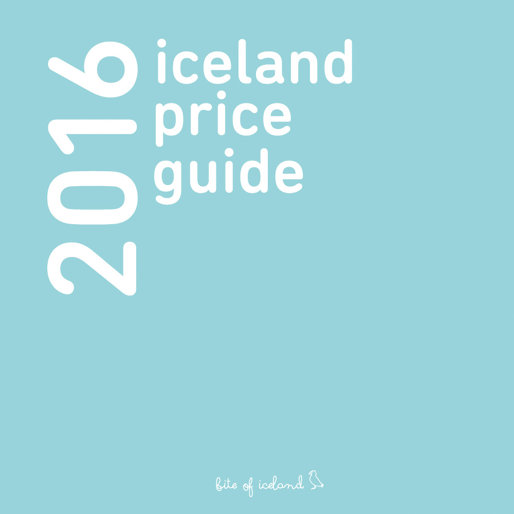 Iceland Prices 2016