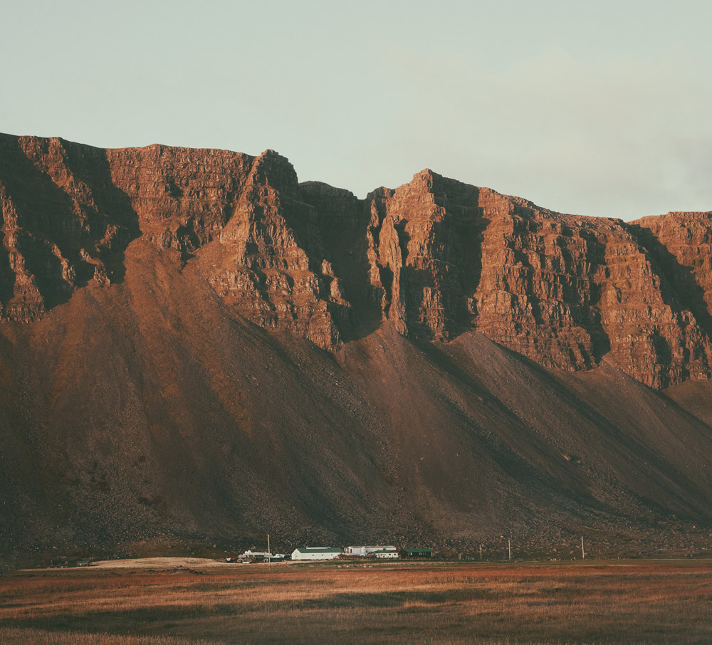 Farm by Raudisandur | Red sand beach | Westfjords