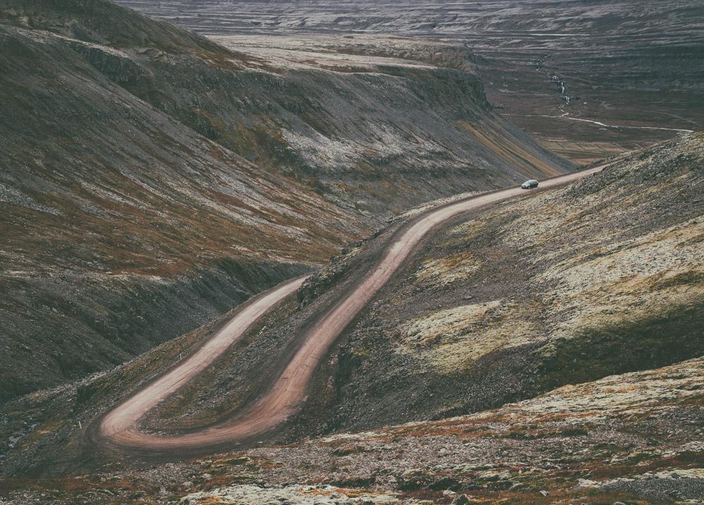 Road to Raudisandur | Red sand beach | Westfjords