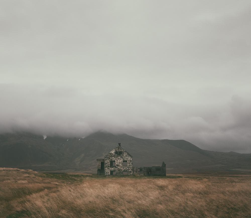 Snaefellsnes Islandia na weekend opuszczona farma