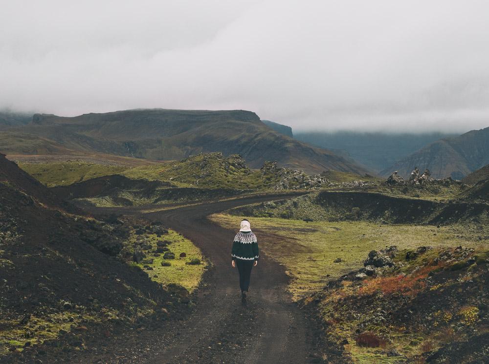 Snaefellsnes Berserkjahraun Islandia na weekend