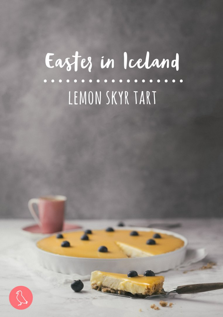 Easter longer than Christmas? Have a look how people celebrate Easter in Iceland. And for all foodies a real treat – recipe for Icelandic lemon skyr tart.