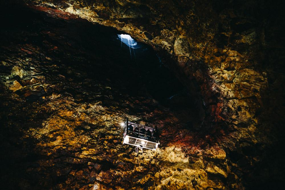 Islandia atrakcje Inside the Volcano