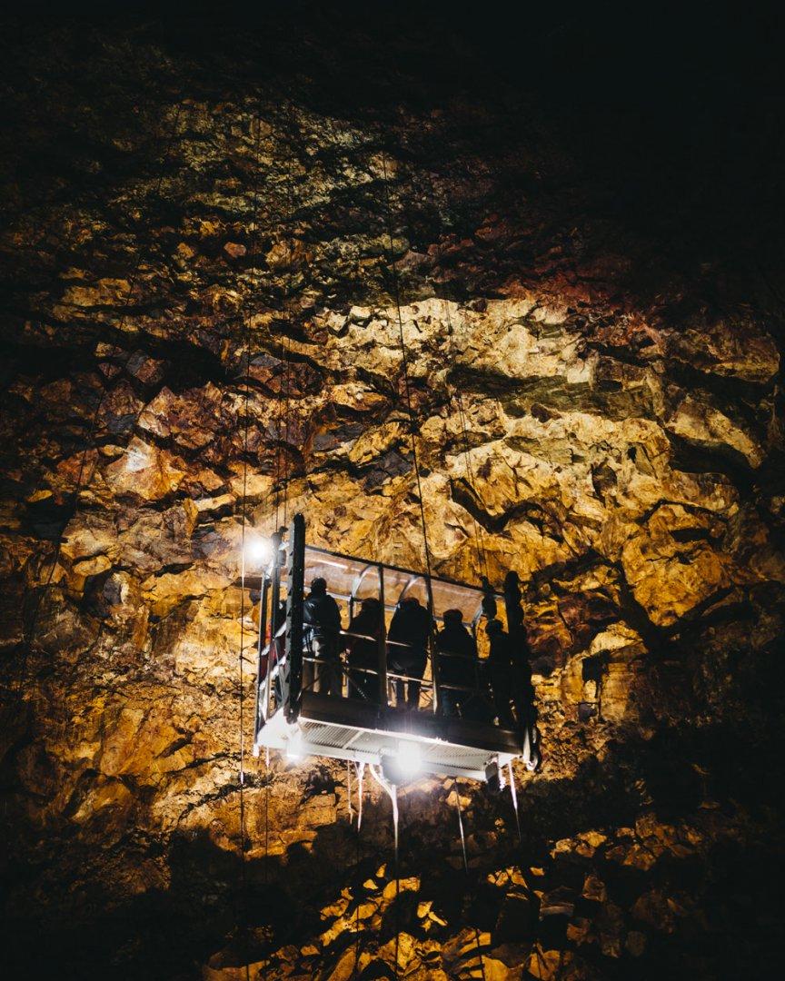 Islandia ciekawe miejsca Inside the Volcano