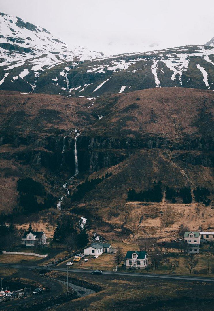 East Fjords Iceland Seydisfjordur