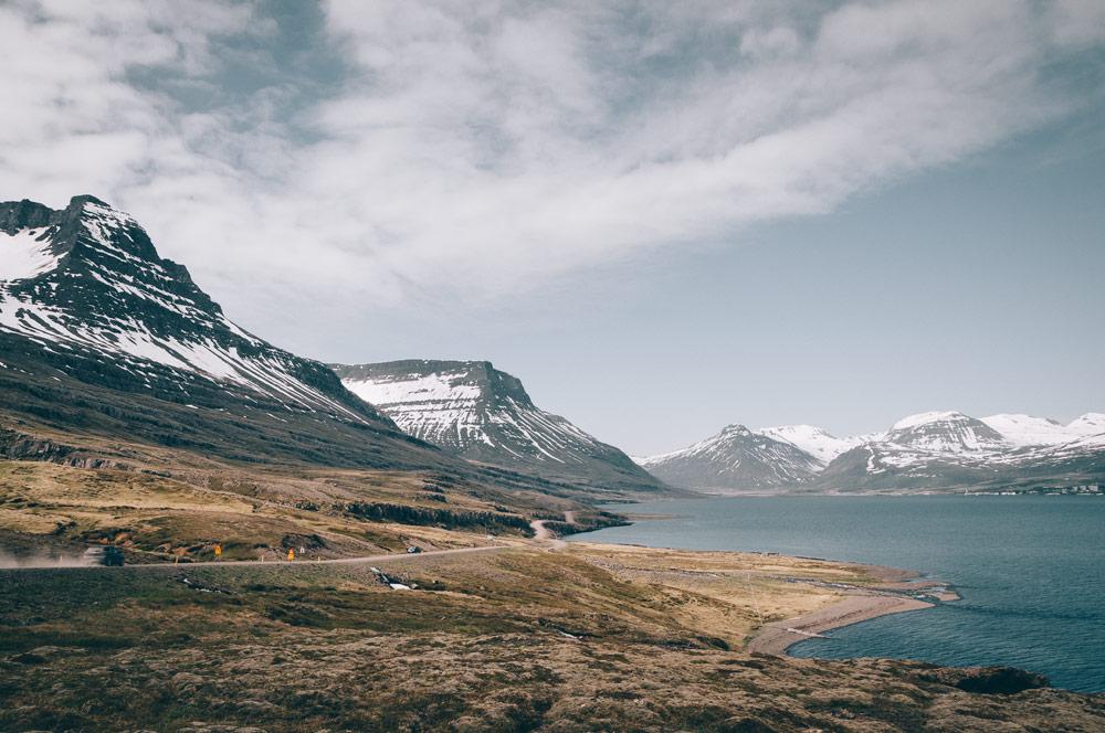 Islandia fiordy Vattarnes