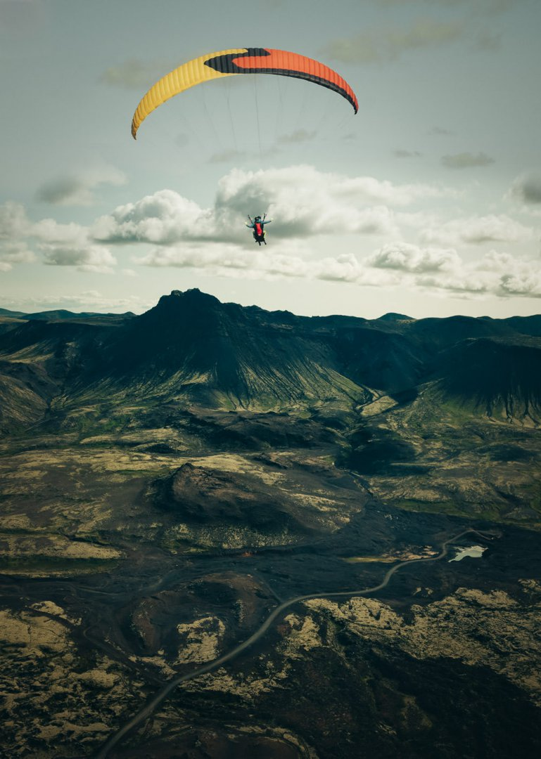 Paragliding Iceland