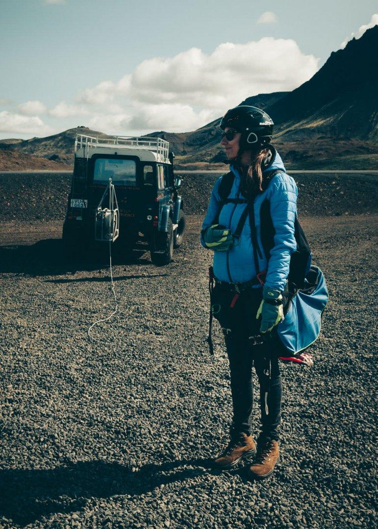 Islandia paralotnia