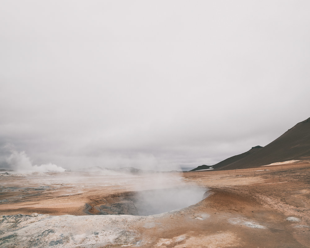 Islandia atrakcje turystyczne Hverir