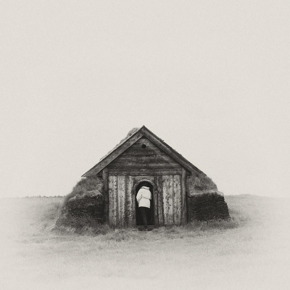 Islandia domek torfowy