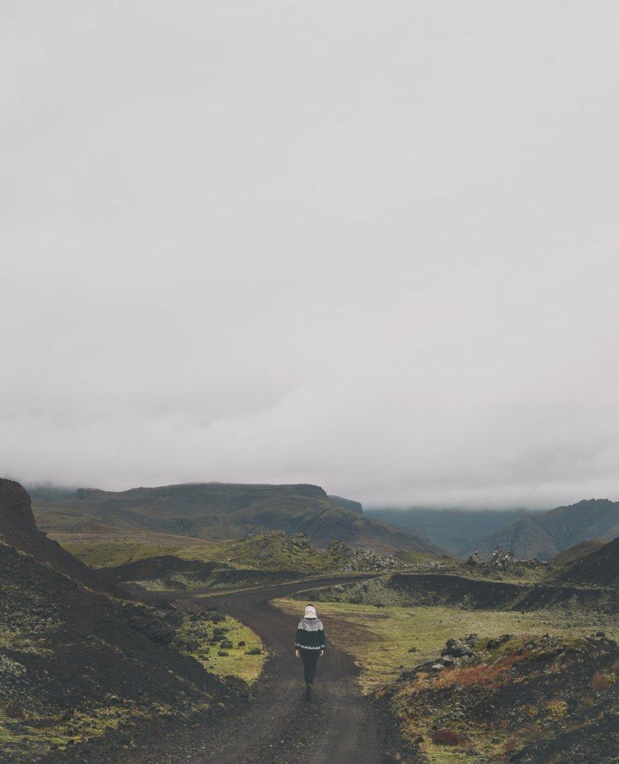 Islandia najciekawsze miejsca pole lawowe Berserkjahraun
