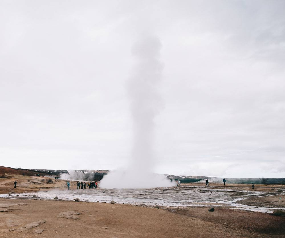 Best of Iceland geyser Strokkur