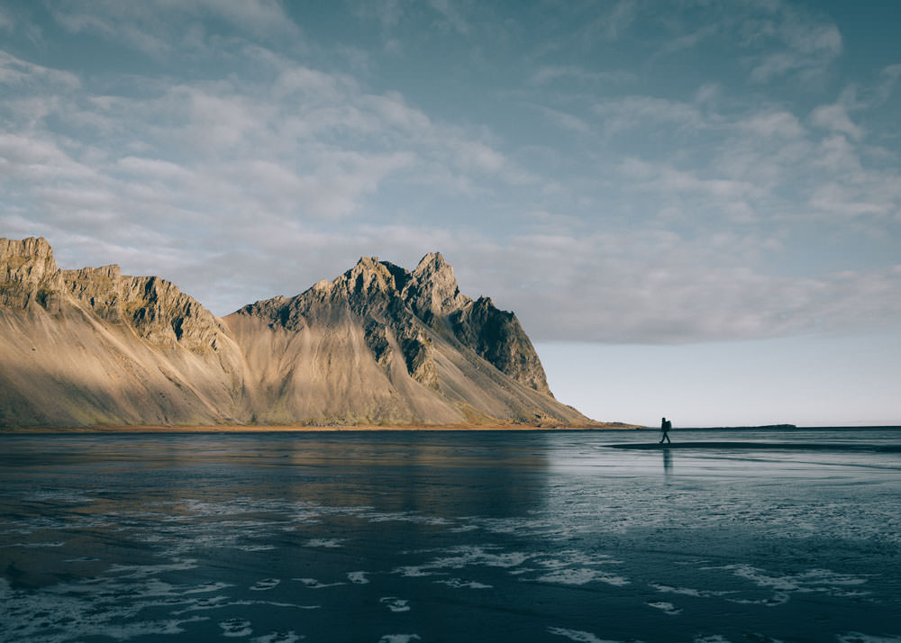 Iceland top sights Vestrahorn
