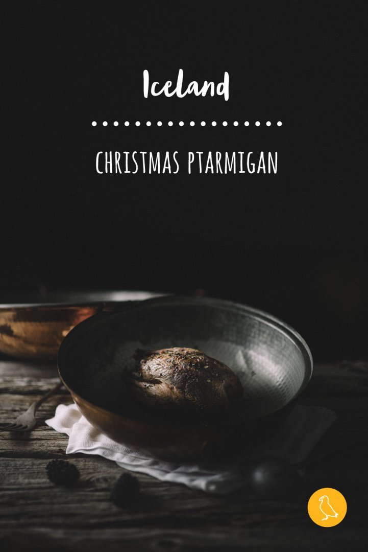 Icelandic food Christmas ptarmigan