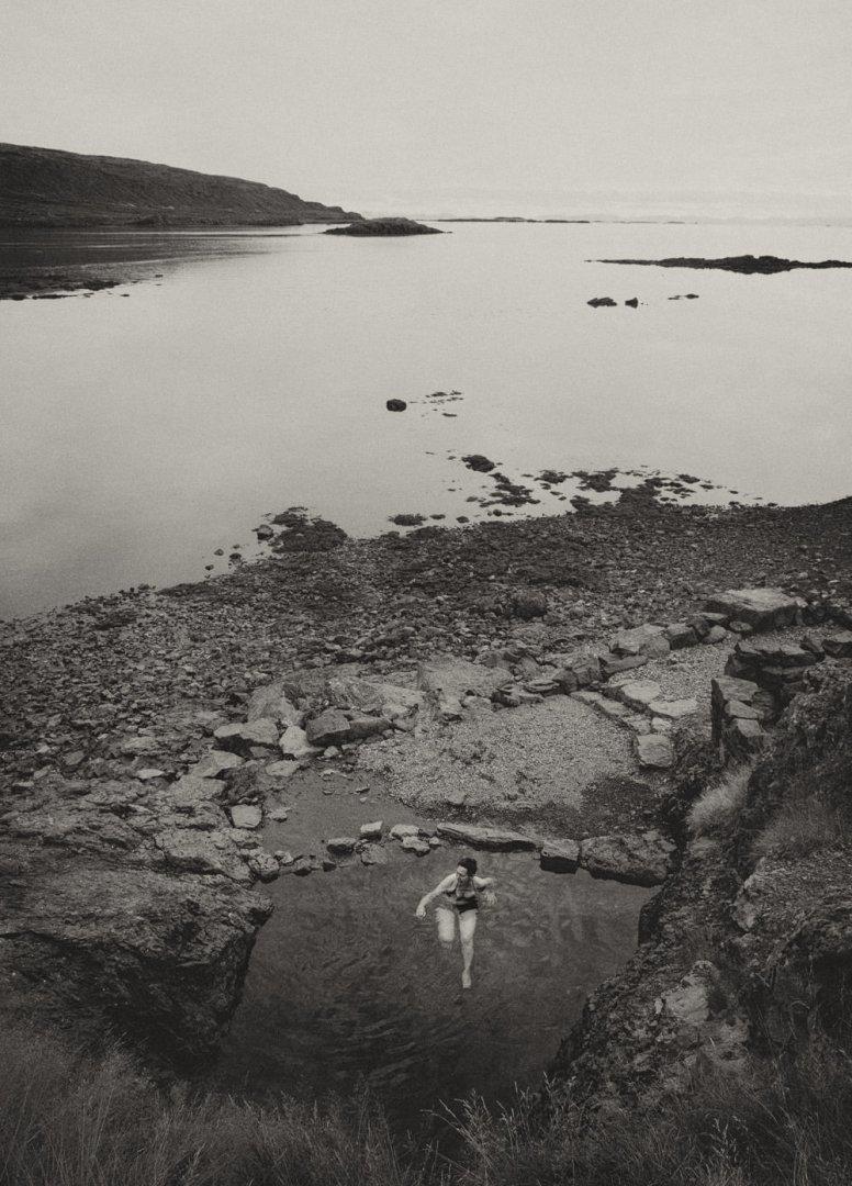 Islandia Fiordy Zachodnie Hellulaug Flokalundur
