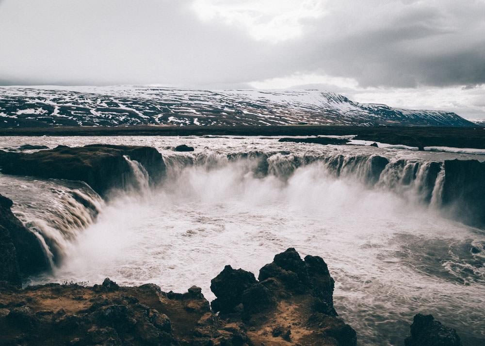 Islandia atrakcje Godafoss