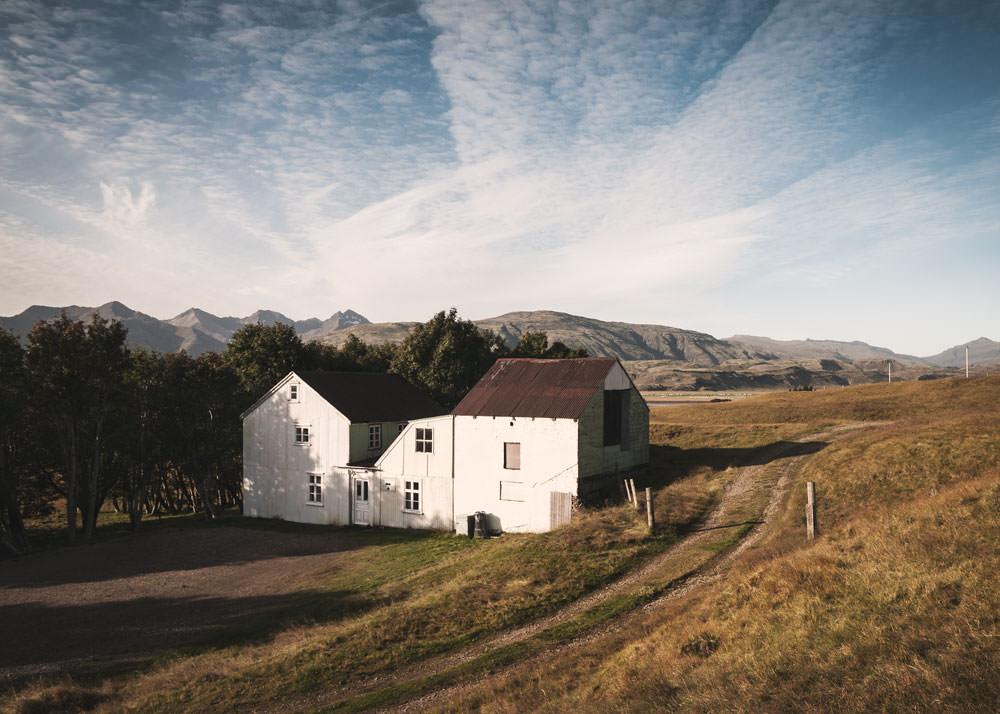 Islandia ciekawe miejsca farma Stafafell