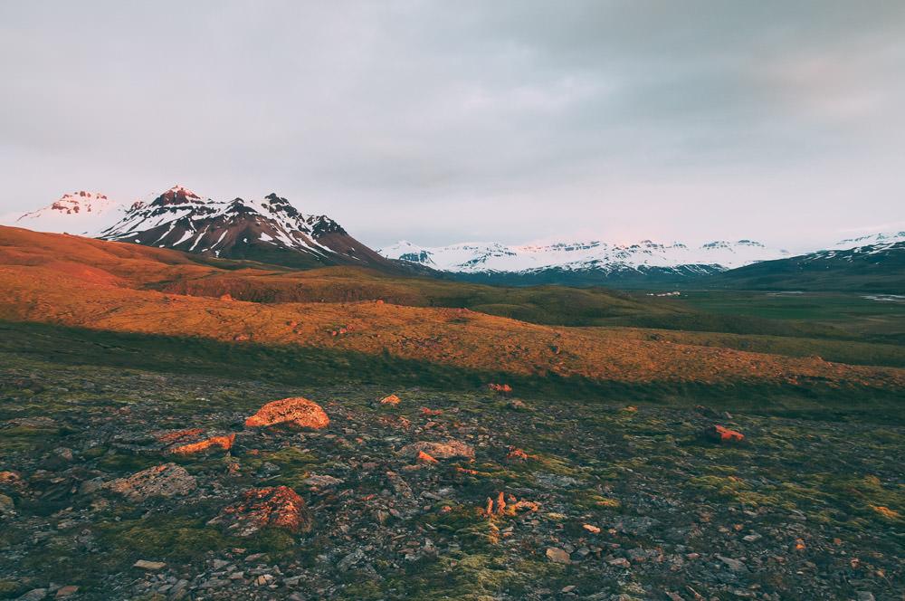 Islandia dzien polarny biale noce