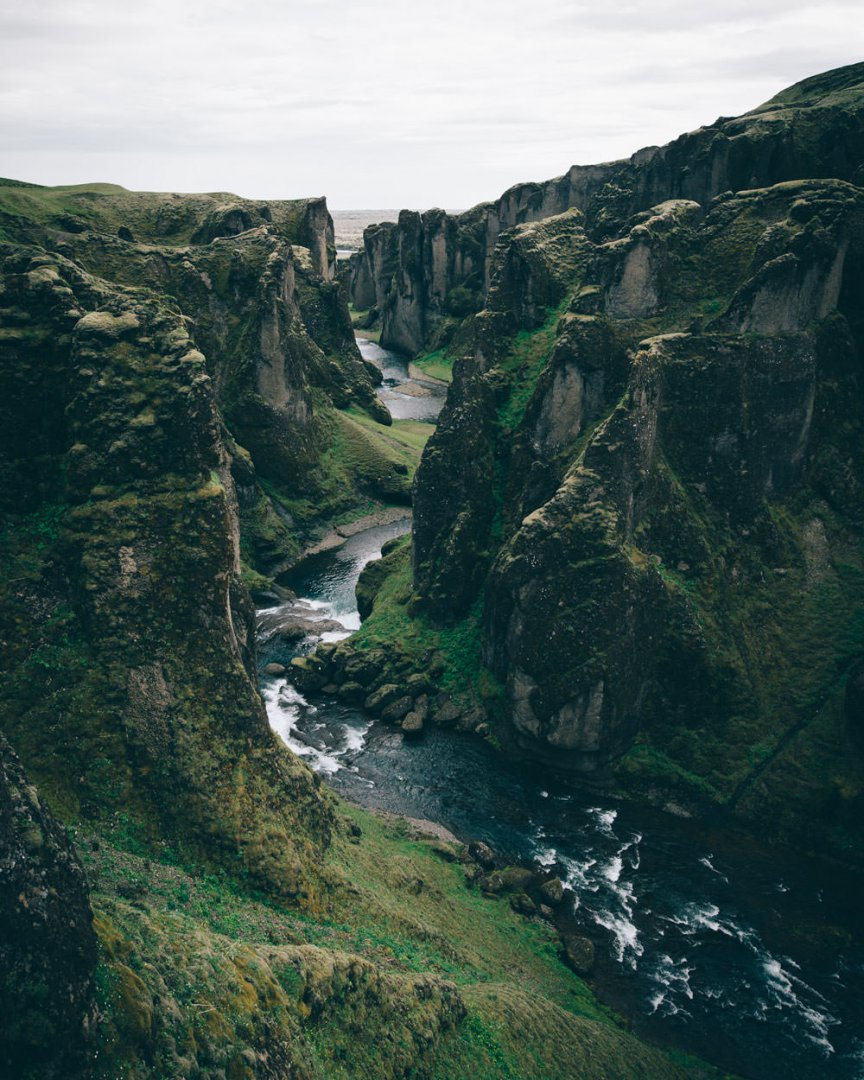 Must do in Iceland Fjadrargljufur canyon