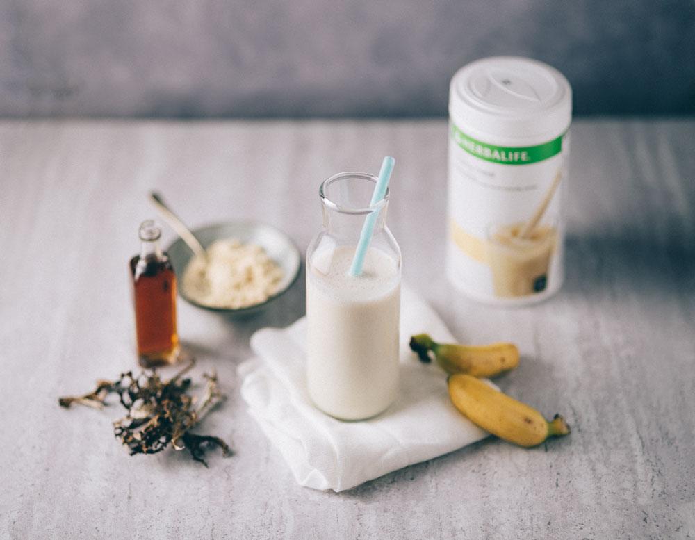 Icelandic breakfast Herbalife shake