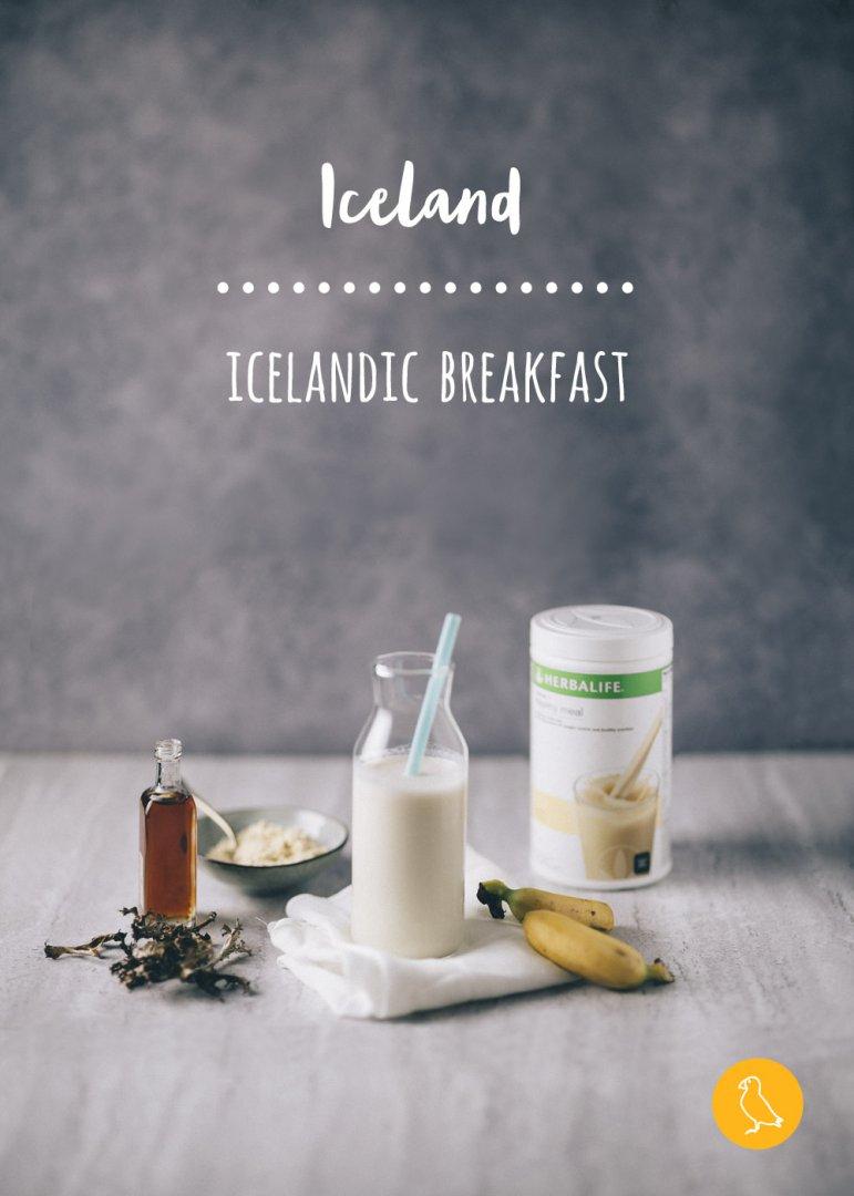 Icelandic breakfast Herbalife
