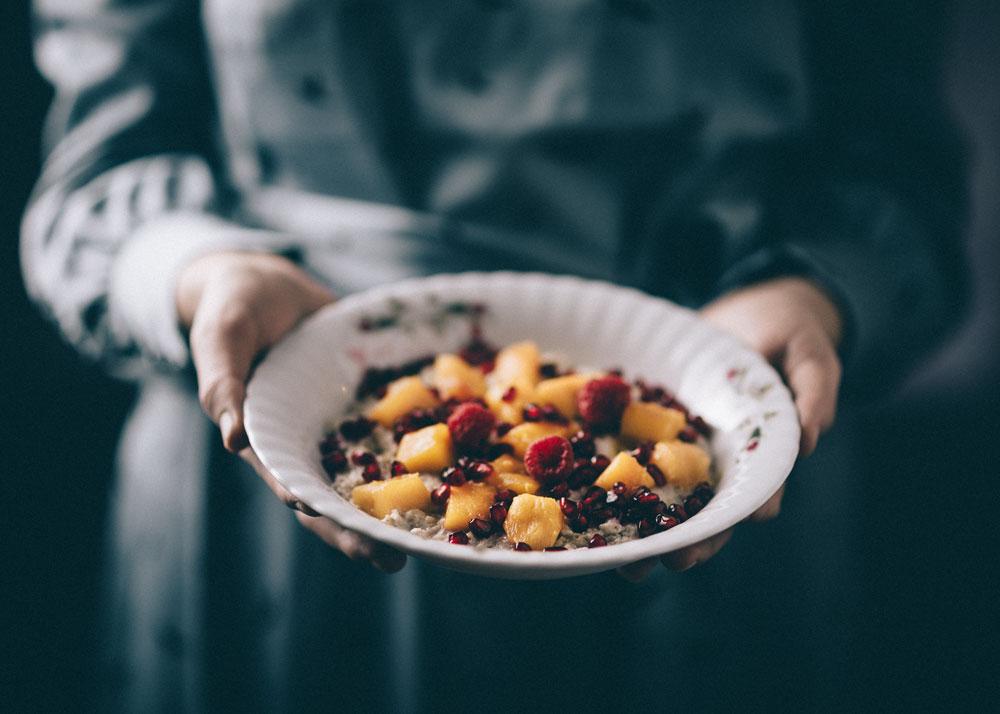 Icelandic breakfast oatmeal