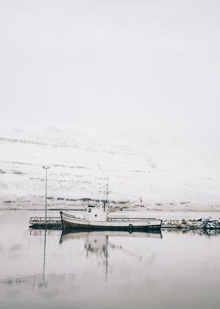 Kuter rybacki w Seydisfjordur