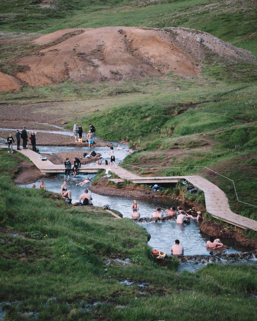 Hveragerdi Reykjadalur hot river