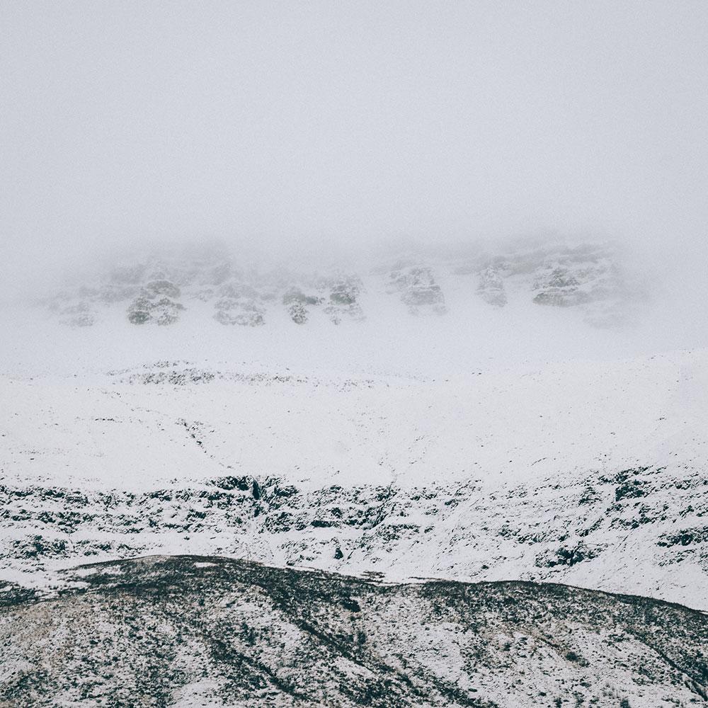 Góry w Seydisfjordur, Islandia