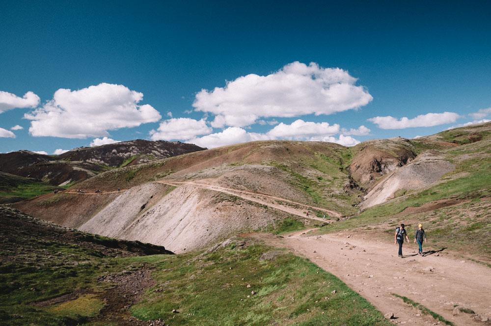 Reykjadalur valley hike