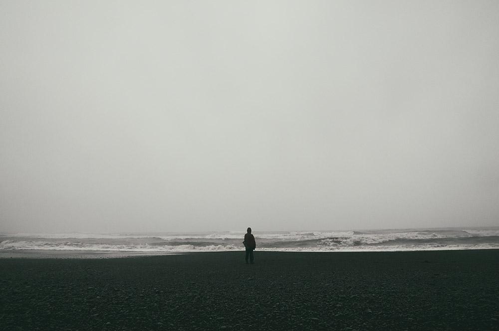 Czarna plaża Reynisfjara Islandia Vik
