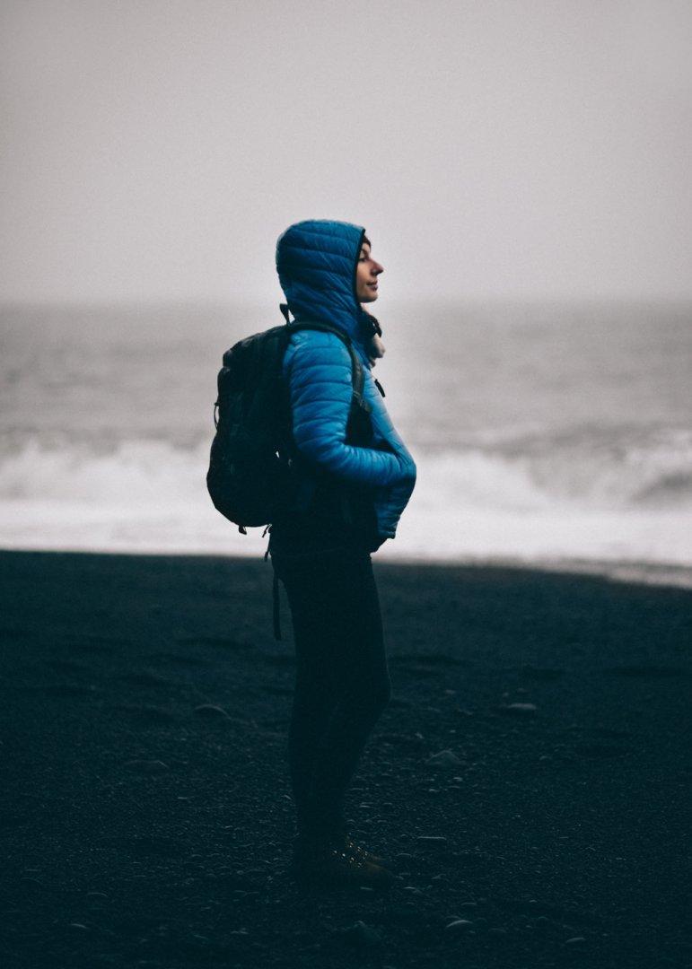 Reynisfjara Iceland black sand beach