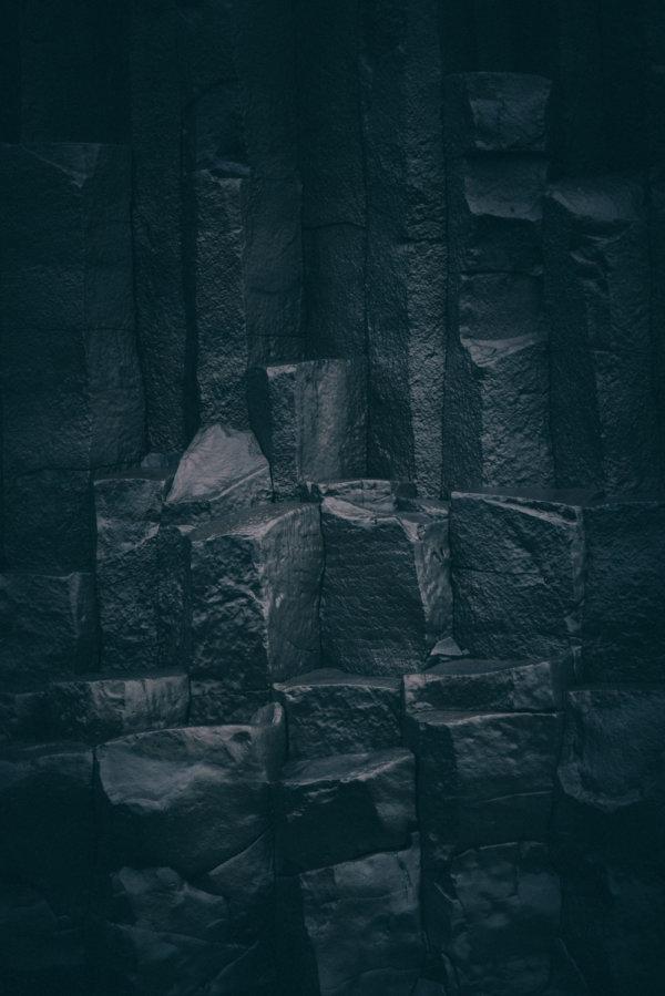 Reynisfjara basalt columns Iceland columnar basalt