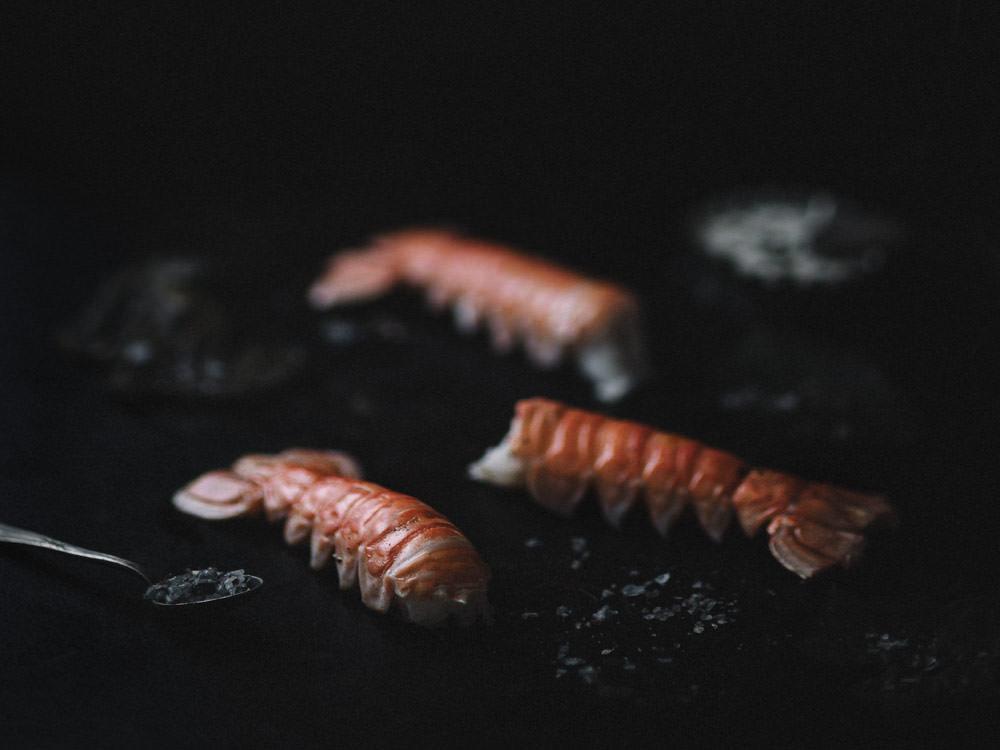 Przepis na langustynki z grilla