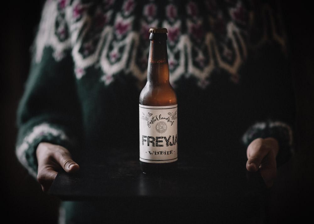 Best Icelandic beer Freyja Witbier. Cost of beer in Iceland.