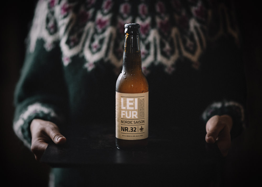 Best Icelandic beer Leifur Nordic Saison with arctic thyme