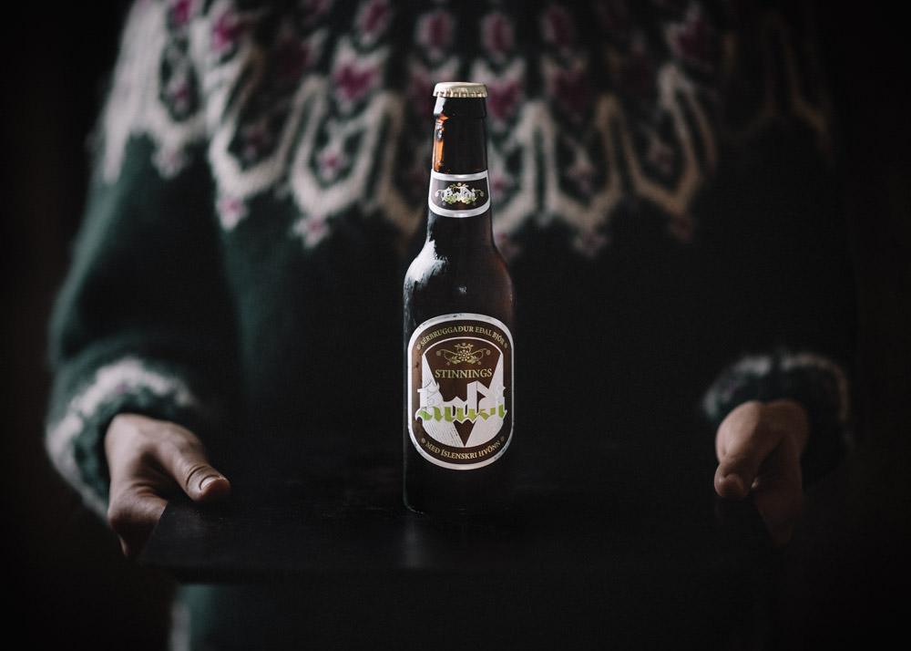 Islandzkie piwo Kaldi Stinnings angelica