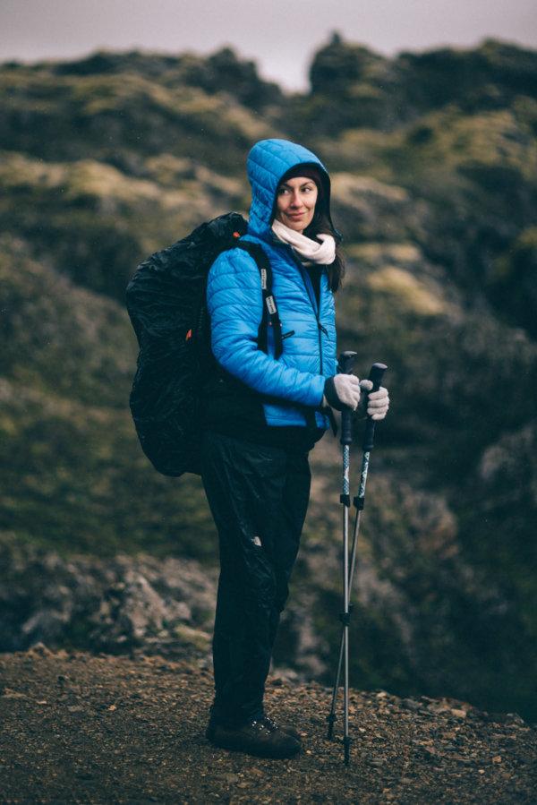 Kurtka Fjord Nansen Idunn recenzja test trekking w górach Landmannalaugar