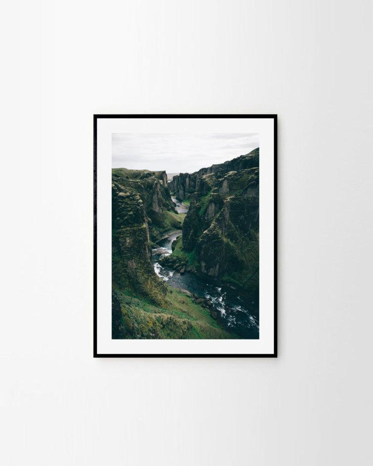 Kanion Fjaðrárgljúfur