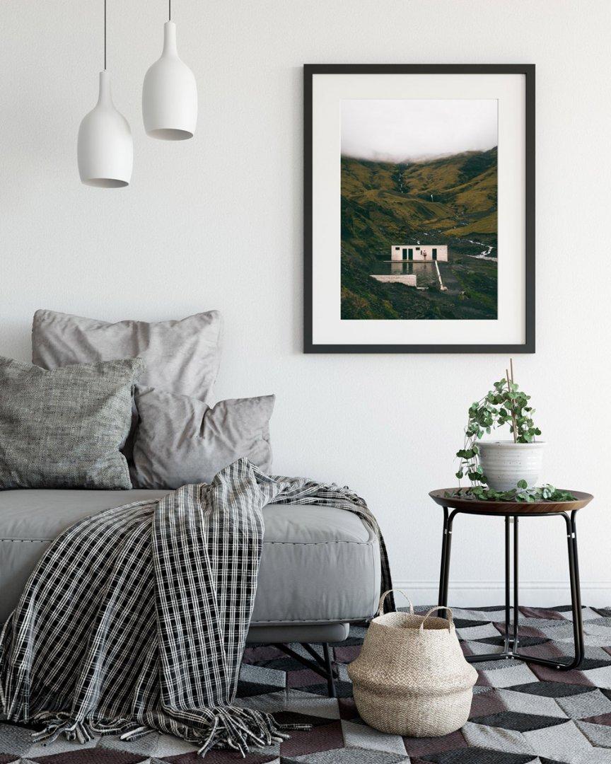 Dekoracja ściany W Salonie Pomysły I Inspiracje Bite Of Iceland