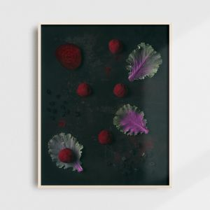 Kitchen wall art - liquorice truffles. Stylish kitchen wall decor by Adam Biernat.