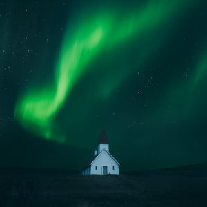 Northern Lights print by Adam Biernat