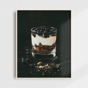 Plakat do kuchni - islandzki skyr. Fotografia kolekcjonerska - Adam Biernat.