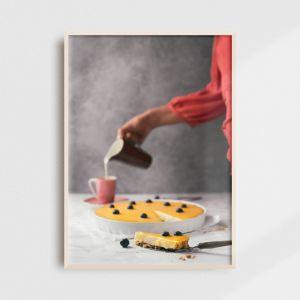 Plakat do kuchni - islandzki skyrnik. Fotografia kolekcjonerska - Adam Biernat.