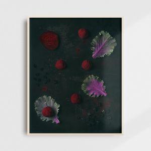 Plakat do kuchni fotografia kulinarna kolekcjonerska lukrecja trufle