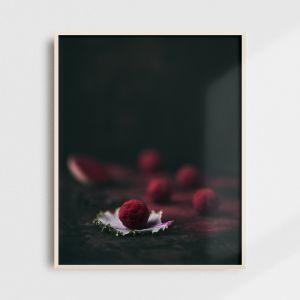 Plakat do kuchni - lukrecja, trufle. Fotografia kolekcjonerska - Adam Biernat.